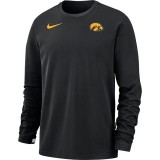 Iowa Hawkeyes Dry Crew Top - Black