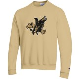 Iowa Hawkeyes Vegas Gold Crew Sweat
