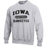 Iowa Hawkeyes Basketball Reverse Weave Crew Sweat