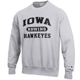 Iowa Hawkeyes Rowing Reverse Weave Crew Sweat