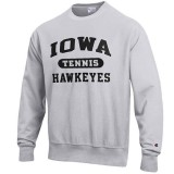 Iowa Hawkeyes Tennis Reverse Weave Crew Sweat