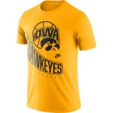 Iowa Hawkeyes Basketball Retro Tee