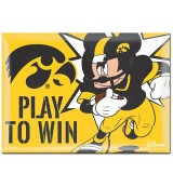 Iowa Hawkeyes Disney Metal Magnet
