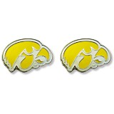 Iowa Hawkeyes Yellow Earrings