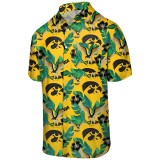 Iowa Hawkeyes Repeat Mascot Floral Shirt