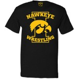 Iowa Hawkeyes Wrestling Tigerhawk Tee - Short Sleeve