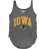 Iowa Hawkeyes Women's Rounded Bottom Tank
