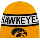 Iowa Hawkeyes Reversible Knit Hat