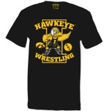 Iowa Hawkeyes Wrestler ANF Tee - Short Sleeve