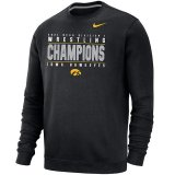 Iowa Hawkeyes Wrestling Champions Crew Sweat