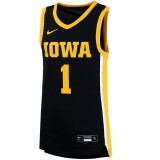 Iowa Hawkeyes Youth Replica Basketball Black Jersey