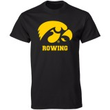 Iowa Hawkeyes Rowing Logo Tee