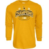 Iowa Hawkeyes Wrestling Scottie Championship Tee - Long Sleeve