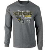 Iowa Hawkeyes Holiday Bowl Swarm Long Sleeve Tee