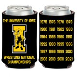 Iowa Hawkeyes Wrestling Champions Can Coozie