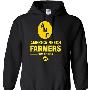 Iowa Hawkeyes ANF Farm Strong Hoodie