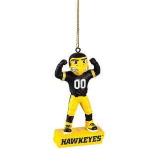 Iowa Hawkeyes Mascot Statue Ornament