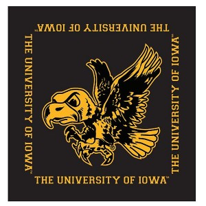 Iowa Hawkeyes Flying Herky Bandana