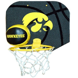 Iowa Hawkeyes Hoop Set