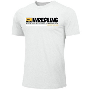 Iowa Hawkeyes Wrestling Engineered Tee - Short Sleeve