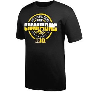 Iowa Hawkeyes Wrestling Tournament Championship Tee - Short Sleeve