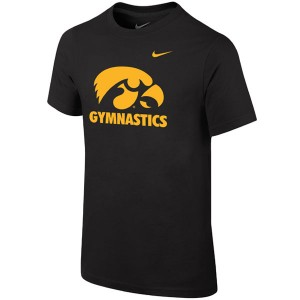 Iowa Hawkeyes Gymnastics Tee - Short Sleeve