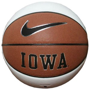 Iowa Hawkeyes Autograph Basketball