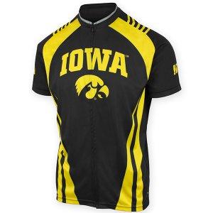 b5d00ccb4dc Iowa Hawkeyes Bike Jersey