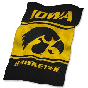 Iowa Hawkeyes Ultra Soft Throw Blanket
