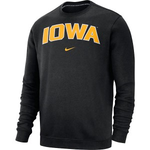 Iowa Hawkeyes Crew Club Fleece