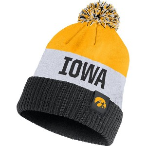 Iowa Hawkeyes Striped Beanie Stocking Hat