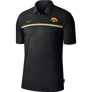 Iowa Hawkeyes Coaches Sideline Dry Polo