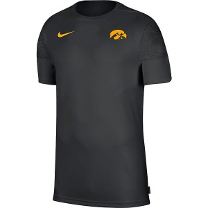 Iowa Hawkeyes Coaches Top - Short Sleeve
