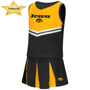 Iowa Hawkeyes Toddler Pom Pom Cheer Set