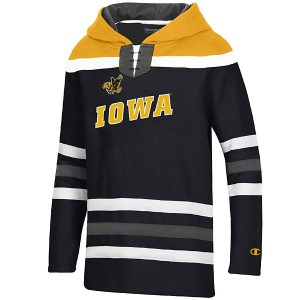 Iowa Hawkeyes Youth Super Fan Hockey Hoodie