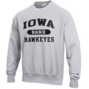 Iowa Hawkeyes Band Reverse Weave Crew Sweat