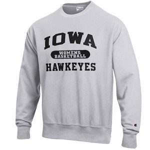 Iowa Hawkeyes Women's Basketball Reverse Weave Crew Sweat