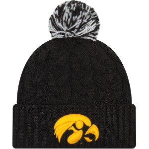Iowa Hawkeyes Women s Cozy Cable Knit Hat bafaa17789