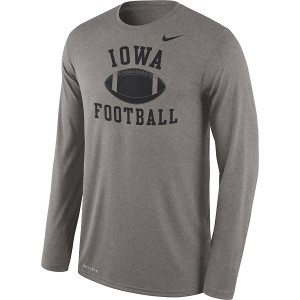 Iowa Hawkeyes Legend Football Tee - Long Sleeve