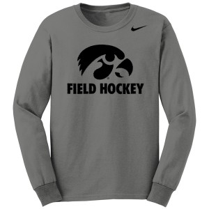 Iowa Hawkeyes Field Hockey Long Sleeve Tee