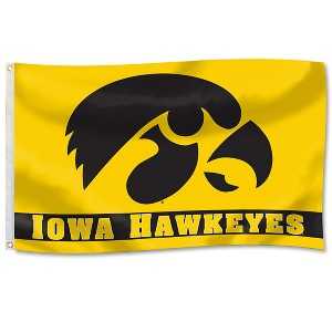 Iowa Hawkeyes 3' x 5' Horizontal Flag