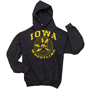 Iowa Hawkeyes Wrestling Headgear Hoodie