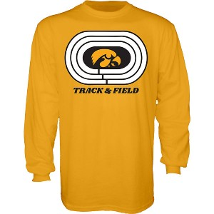 Iowa Hawkeyes Track & Field Knock Down Tee - Long Sleeve