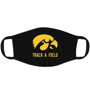 Iowa Hawkeyes Track & Field Mask