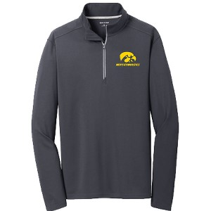 Iowa Hawkeyes Men's Gymnastics Quarter Zip