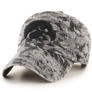 Iowa Hawkeyes Nilan Clean Up Grey Hat