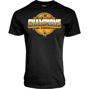 Iowa Hawkeyes Wrestling Never Fail Championship Tee - Short Sleeve
