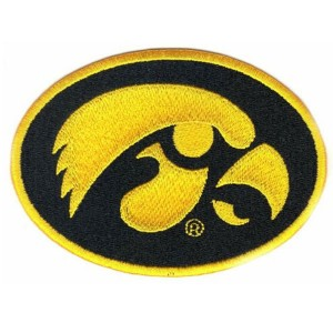 "Iowa Hawkeyes Collector 3"" Tigerhawk Patch"
