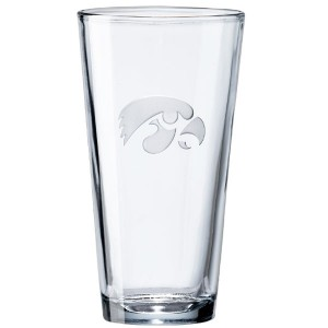 Iowa Hawkeyes Pint Glass