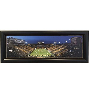 Iowa Football - Black & Gold Night Game Print